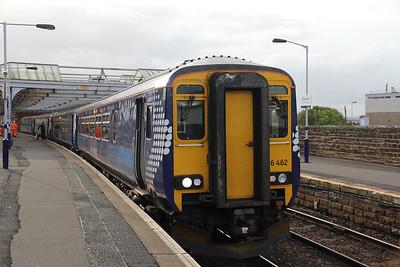 Scotrail 156462 Kilmarnock Railway Station 2 Sep 18