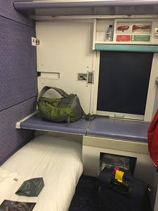 Caledonian Sleeper Cabin 01 Aug 17