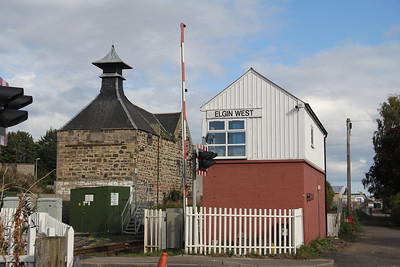 Elgin West Signal Box 1 Sep 17