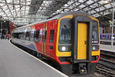 East Midlands Trains 158862 Liverpool Lime Street Station 2 Sep 17