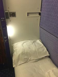 Caledonian Sleeper Cabin 03 Aug 17