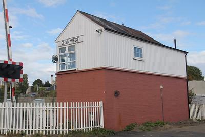 Elgin West Signal Box 10 Sep 17