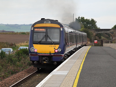 170428 hurries away from Leuchars on the 15th October 2011