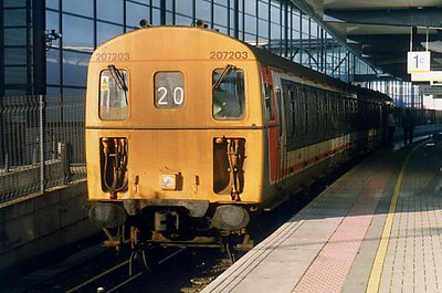 207203 at Ashford International on the 19th December 1998