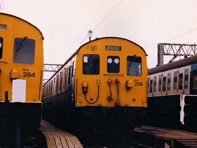 302256 sits in Shoeburyness sidings during Spring 1986