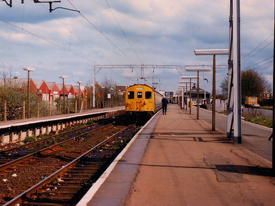 302242 rests at Shoeburyness during Spring 1986