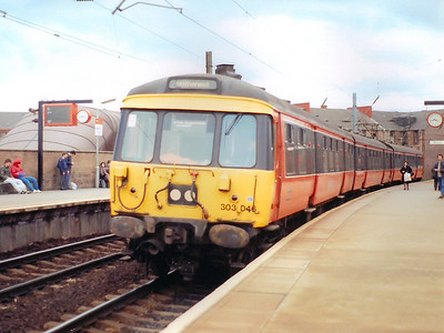 303046 at Partick on the 26th April 1986