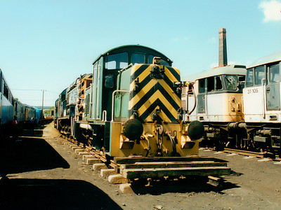 07011 at Barrow Hill on the 16th July 2000