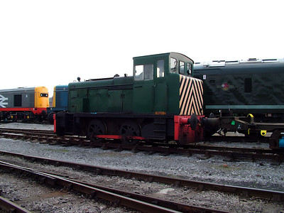 Andrew Barclay industrial number 426 waits for work in Swanwick yard on the 31st March 2007