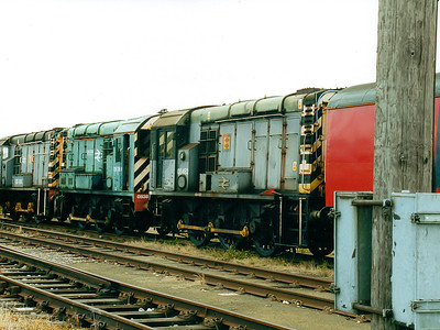 08482 at Old Oak Common TMD on the 5th August 2000