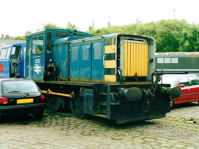 2767 sits in Castlecroft Yard on the 8th July 2000