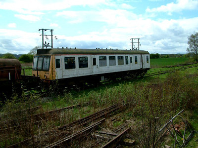 A class 107 car at Bridge of Dun on the 5th May 2003
