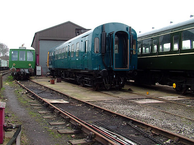 51188 sparkles outside the carriage repair shed at Butterley on the 31st March 2007