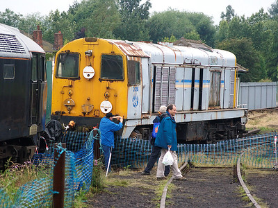 2016 displays it's remarkably intact RFS livery at Barrow Hill on the 15th July 2007