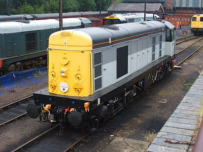 20096, from the back, at Barrow Hill on the 15th July 2007