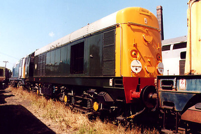 20056 at Barrow Hill on the 16th July 2000