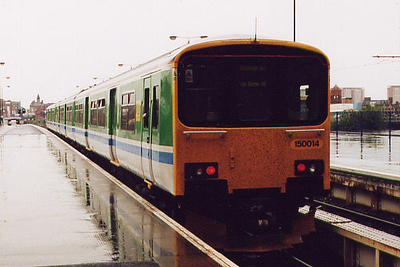 150014 at Birmingham Snow Hill on the 20th May 2000