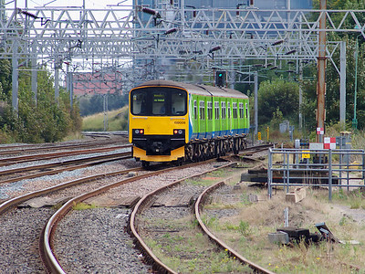 150009 scurries away from Rugeley Trent Valley on the 18th September 2007