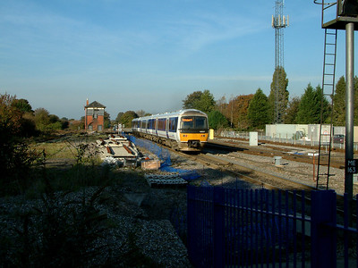 165031 heads north from Princes Risborough on the 4th November 2006