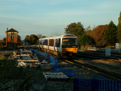 165025 leaves Princes Risborough for Stratford-upon-Avon on the 4th November 2006