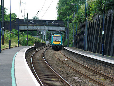170104 rushes through Five Ways on the 28th June 2008