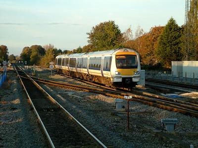 168219 slows for Princes Risborough on the 4th November 2006