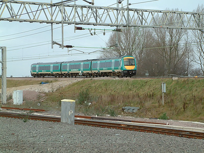 170103 hurries away from Nuneaton on the 29th January 2007