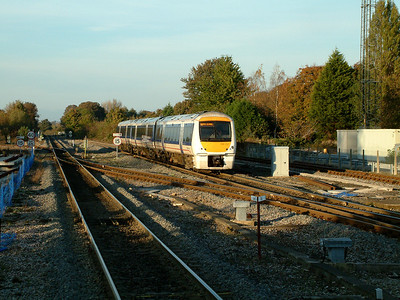 168112 brakes for it's call at Princes Risborough on the 4th November 2006