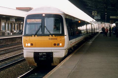 168002 at Leamington Spa on the 6th January 1999