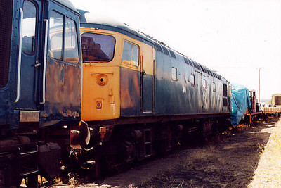 26011 at Barrow Hill on the 16th July 2000