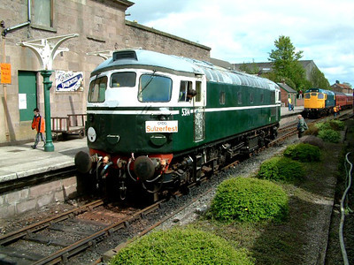 26014 at Brechin on the 5th May 2003