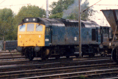 25910 at Wigan Springs Branch in Spring 1986