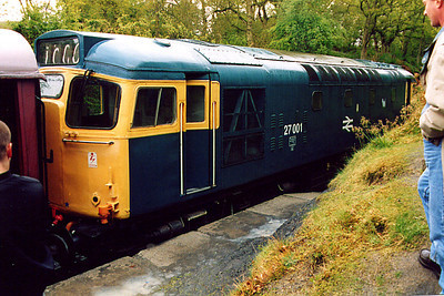 27001 at Birkhill on the 4th May 2003
