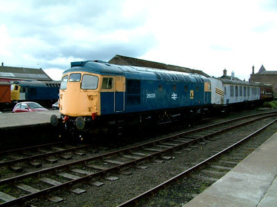 26035 at Brechin on the 5th May 2003