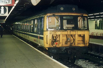 310110 at Birmingham New Street on the 18th September 1994