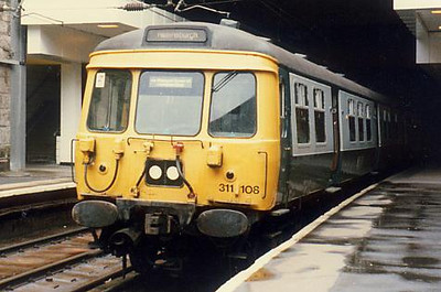 311108 at Charing Cross on the 27th April 1986
