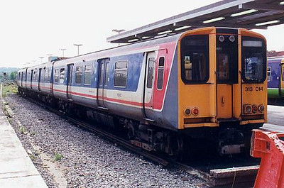 313014 waits for a job at Watford Junction on the 4th May 1999