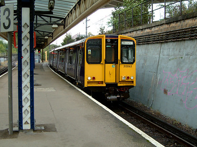 313063 arrives at Drayton Park on the 2nd October 2006