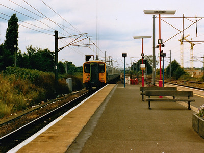 317354 hurries away from Stevenage during Summer 1986