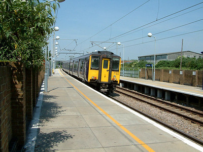 317511 leaves Tottenham Hale on the 9th June 2006