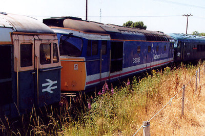 33035 at Barrow Hill on the 16th July 2000