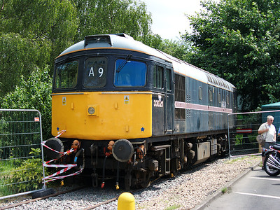 33021 sits in store at Tyseley on the 28th June 2008