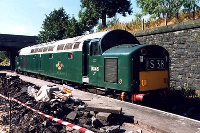 40145 at Bury Bolton Street on the 10th September 1999