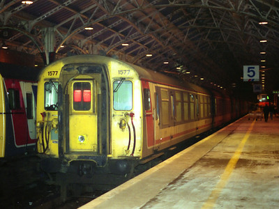 1577 stands at Dover Western Docks on the 28th December 1991