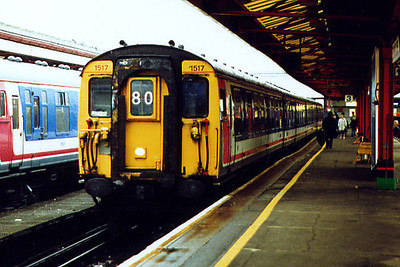 1517 at Portsmouth Harbour on the 26th September 1998