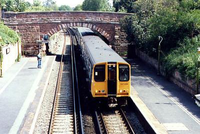 507029 at Cressington during Summer 1986