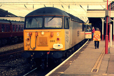 56093 at Stockport on the 17th September 1994
