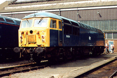 56004 at Old Oak Common TMD on the 5th August 2000
