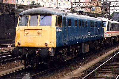 81004 at London Euston in 1989