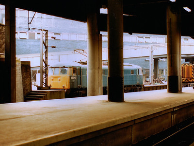 85040 waits for a job at London Euston during 1989